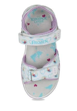 Сандалии для девочек Frozen, цв. белый, р-р 26