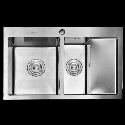 Кухонная мойка из нержавеющей стали Gerhans K37851-SL (780х510 мм)