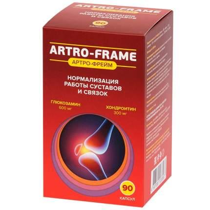 Артро-Фрейм МСМ Глюкозамин Хондроитин 300 мг+500 мг+400 мг таблетки 90 шт.