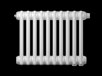 Радиатор трубчатый Zehnder Charleston Retrofit 3037, 30 сек.1/2 бок.подк. RAL9016 +кроншт