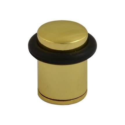 Ограничитель двери НОРА-М 105 напольный, золото