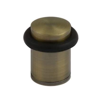 Ограничитель двери НОРА-М 105 напольный, старая бронза