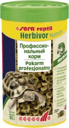 Корм для рептилий Sera Reptil Professional Herbivor, травы, 85г