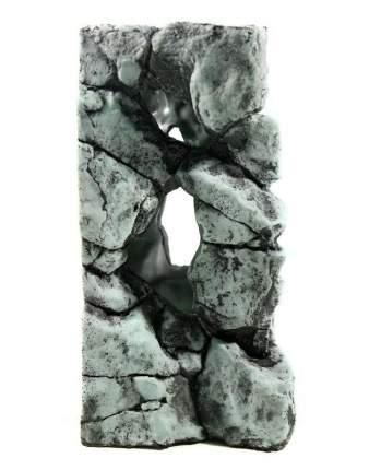 Камень для аквариума Deksi Камень 491, полиэфирная смола, 14х14х25 см
