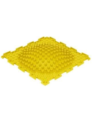 Массажный коврик Ортодон Островок жесткий желтый