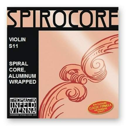 Струна А/Ля для скрипки размером 4/4 Thomastik S11 Spirocore