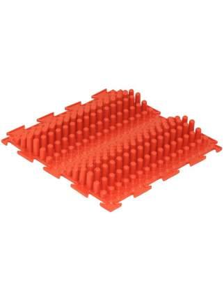 Детский массажный коврик ОртоДон Волна жесткая красный