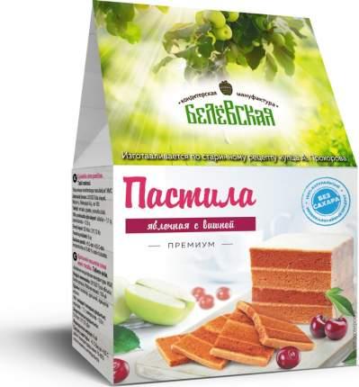 Пастила Белевская кондитерская мануфактура вишня без сахара 150г