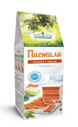 Пастила Белевская кондитерская мануфактура корица без сахара 250г