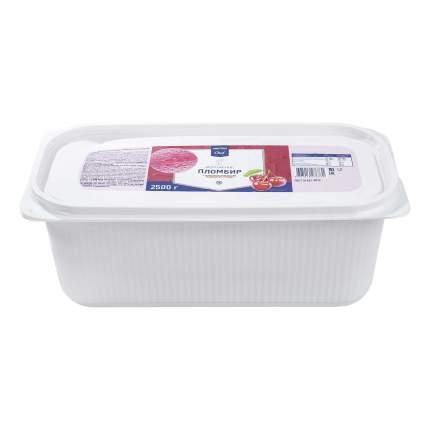 Мороженое пломбир Metro Chef вишневый 2,5 кг бзмж
