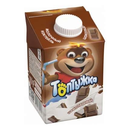 Молочный коктейль Топтыжка Шоколадный 3,2% 500 г бзмж