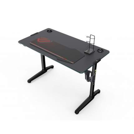 Стол для геймера EUREKA со стеклянной столешницей и RGB-подстветкой GIP 44