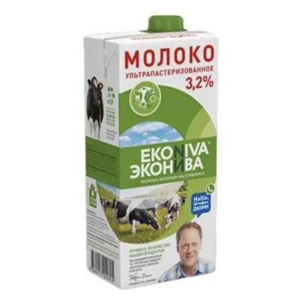 Молоко ЭкоНива ультрапастеризованное 3,2% 1 л