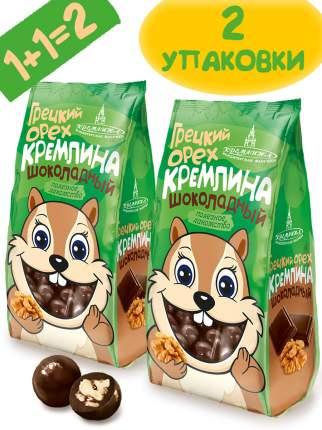 """Драже """"Грецкий орех Кремлина шоколадный"""" 2 шт по 135 г"""