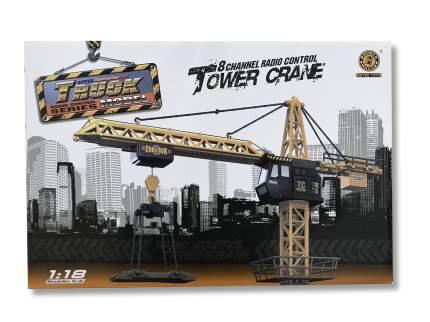 Кран радиоуправляемый Tower Crane 1:18, высота 132 см, 8 каналов