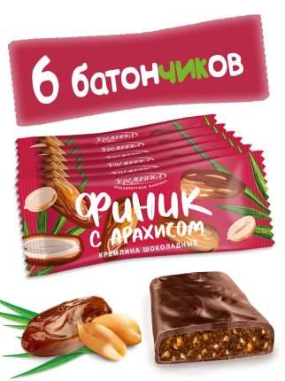 Батончик Кремлина Финик шоколадный с арахисом 6 шт. по 30 г