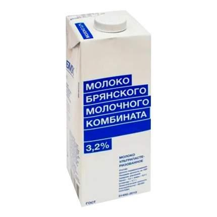 Молоко Брянский молочный комбинат ультрапастеризованное 3,2% бзмж 975 мл