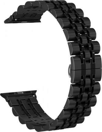 Ремешок металлический GSMIN Elegy для Apple Watch 42/44mm (Черный)