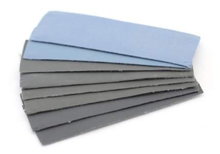 JAS Набор наждачной бумаги на липучке, P2000, P2500, P3000, P5000, 30x90 мм, 8 шт.