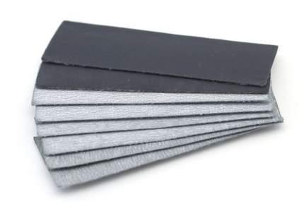 JAS Набор наждачной бумаги на липучке, P600, P800, P1000, P1500, 30x90 мм, 8 шт.