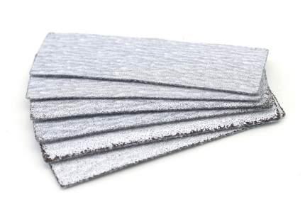 JAS Набор наждачной бумаги на липучке, P80, P120, P180, 30x90 мм, 6 шт.