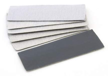 JAS Наждачная бумага на липучке, P2500, 30x90 мм, 6 шт.