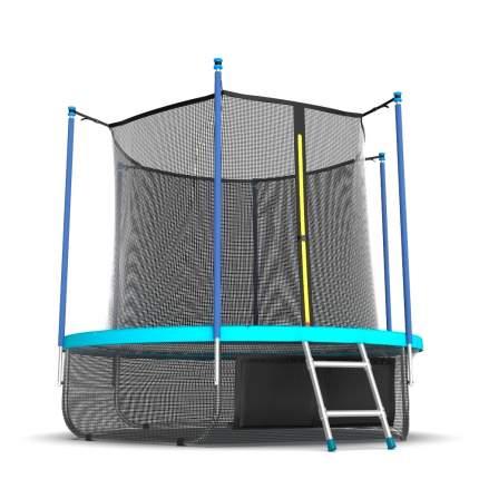 Evo Jump Батут EVO Jump Internal 12ft Wave с внутренней сеткой и лестницей + нижняя сеть