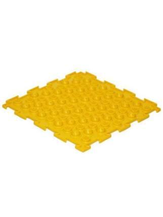 Массажный коврик Ортодон Колючки жесткие желтый