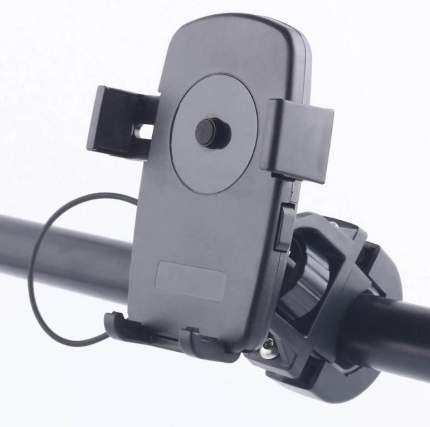 Универсальный держатель GSMIN X5 для смартфонов на руль велосипеда (Черный)