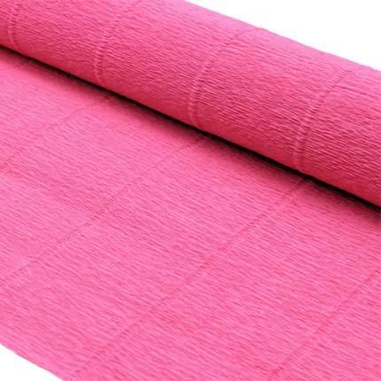 Бумага гофрированная простая 50см*2,5м 140гр 951 ярко-розовая