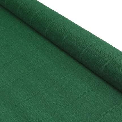 Бумага гофрированная простая, 50см*2,5м 180гр 561 хвойно-зеленая