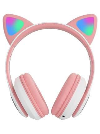 Беспроводные наушники NoBrand Cat Ear P33M Pink