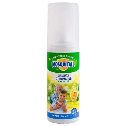 Спрей Mosquitall Нежная защита для детей от комаров 100 мл