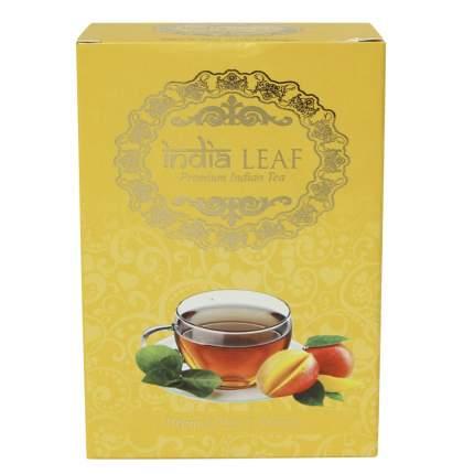 """Чай India leaf """"С манго"""", черный  среднелистовой с добавками, 100 гр"""