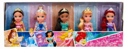 Набор кукол Disney Princess Ариэль, Аврора, Бель, Золушка и Жасмин 73254