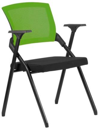 Офисный стул Riva RCH M2001 Ткань черная Сетка зеленая