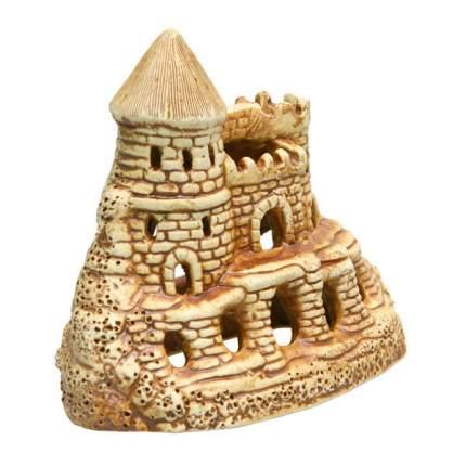 Декорация для аквариума, для террариума Орел Керамика Каменная крепость,  15х8х12см