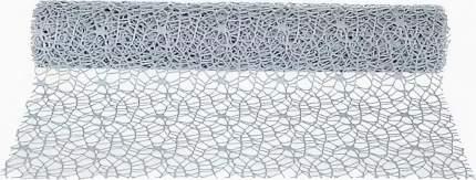 Ткань для декорирования Кружевная Сетка серая 200*40 см 827104
