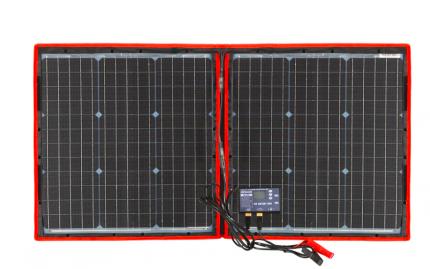 Складная солнечная панель для кемпинга Dokio, 100W 2555\