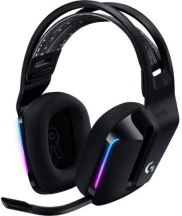 Игровая гарнитура Logitech G733 Lightspeed Black