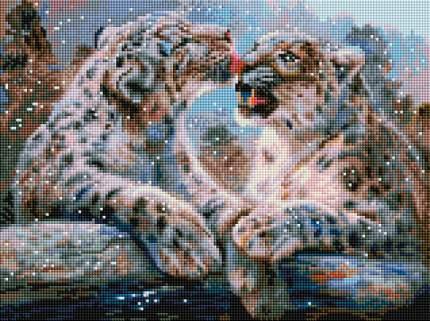 Алмазная мозаика Ирбисы Белоснежка 564-ST-S