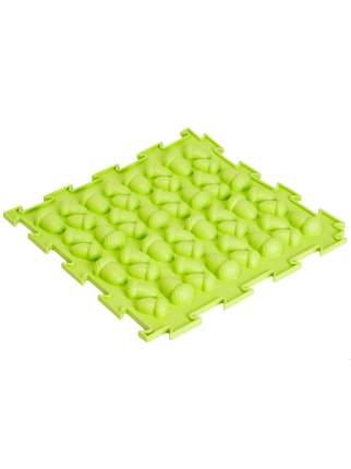 Массажный коврик Ортодон Желуди жесткие салатовый