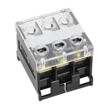 Блок зажимов БЗД-3 до 4,0 мм2 30A