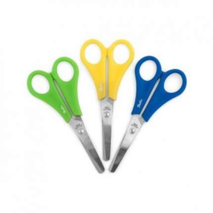 Ножницы детские цветные. Hatber. 13.5 см