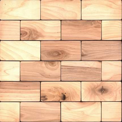 Болтон 50x100. Деревянная настенная плитка на самоклеющейся основе 300x300 мм