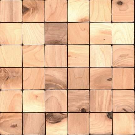 Болтон 50x50. Деревянная настенная плитка на самоклеющейся основе 300x300 мм