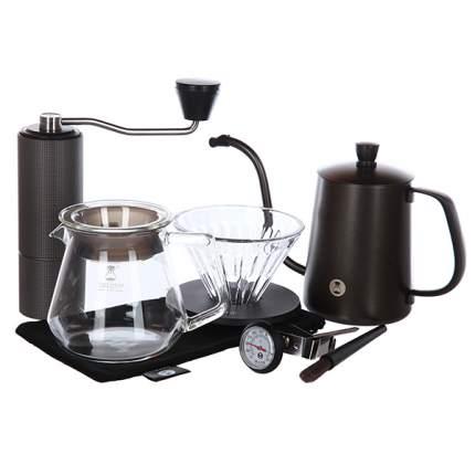 Hабор для заваривания кофе Timemore Small C2, черный