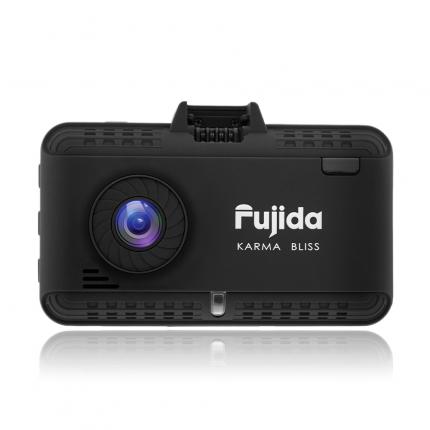 Fujida Karma Bliss WiFi - видеорегистратор с GPS радар-детектором и WiFi-модулем