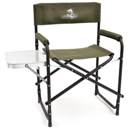 Кресло складное базовый вариант сталь со столиком 41-0080