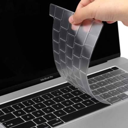 Накладка на клавиатуру Wiwu Keyboard Protector USA для MacBook Pro 13/16 2020 (Clear)